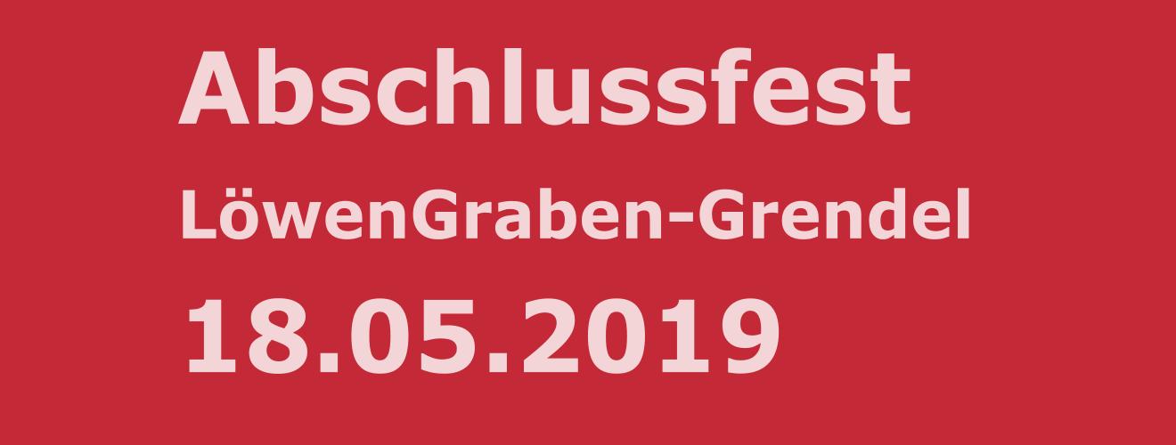 Abschlussfest LöwenGraben-Grendel
